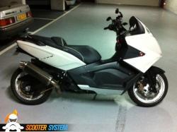 GILERA GP800 white