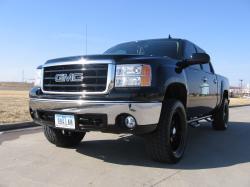 GMC SIERRA 1500 CREW CAB black