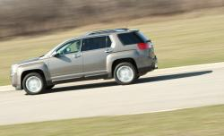 GMC TERRAIN AWD green