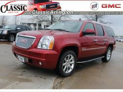 GMC YUKON red