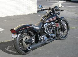 HARLEY-DAVIDSON BAD BOY black