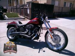 HARLEY-DAVIDSON BAD BOY red