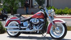 HARLEY-DAVIDSON BAD BOY white