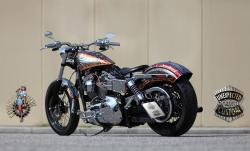HARLEY-DAVIDSON DYNA CUSTOM brown