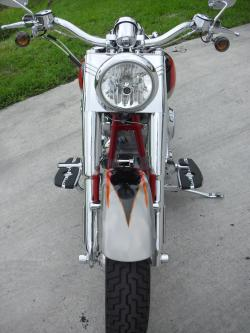 HARLEY-DAVIDSON FLSTFSE SCREAMIN EAGLE FAT BOY interior