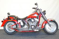 HARLEY-DAVIDSON FLSTFSE SCREAMIN EAGLE FAT BOY red