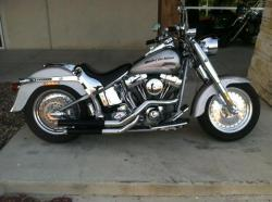 HARLEY-DAVIDSON FLSTFSE SCREAMIN EAGLE FAT BOY silver