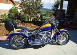 HARLEY-DAVIDSON FLSTFSE SCREAMIN EAGLE FAT BOY white