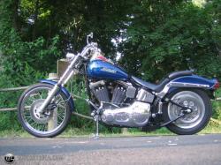HARLEY-DAVIDSON SOFTAIL blue