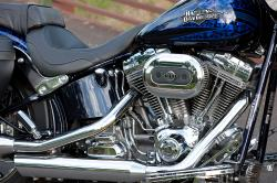 HARLEY-DAVIDSON SOFTAIL engine