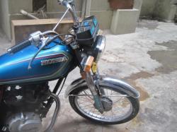 HONDA 125 CG blue