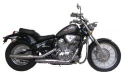 HONDA 400 STEED black