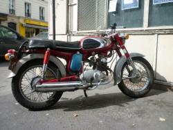 HONDA 50 BENLY engine