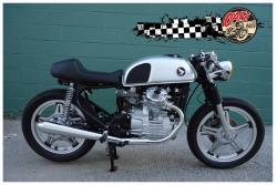HONDA 500 CX brown