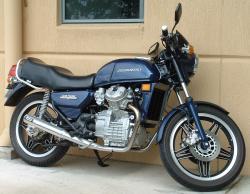 HONDA 500 blue