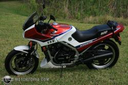 HONDA 500 white