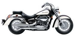HONDA 750 SHADOW AERO silver