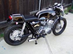 HONDA 750 black