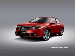 HONDA ACCORD red
