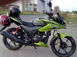 HONDA CB F green