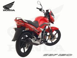HONDA CBF 150 red