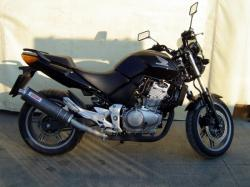 HONDA CBF 500 black