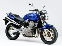 HONDA CBF 500 blue