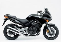 HONDA CBF 600 brown