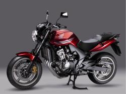 HONDA CBF 600 red