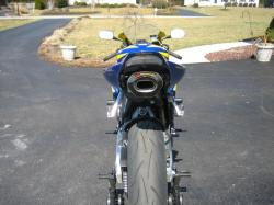 HONDA CBR 1000 blue