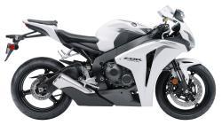 HONDA CBR 1000 white