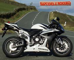 HONDA CBR 600 black