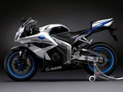 HONDA CBR 600 blue
