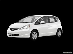 HONDA CITY FIT white