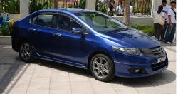 HONDA CITY blue