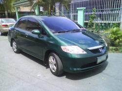 HONDA CITY green