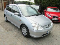 HONDA CIVIC 1.4 silver