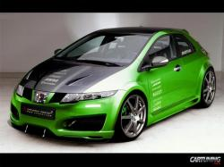 HONDA CIVIC green