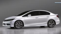 HONDA CIVIC white