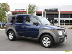 HONDA ELEMENT AWD blue