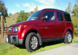 HONDA ELEMENT AWD white