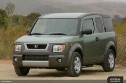 HONDA ELEMENT green