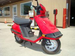 HONDA ELITE 80 red