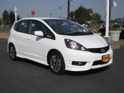 HONDA FIT EX white