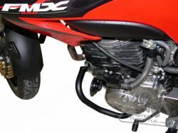 HONDA FMX 650 silver
