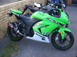 HONDA FORESIGHT 250 green
