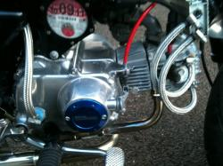 HONDA GORILLA engine