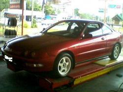 HONDA INTEGRA 1.6 brown