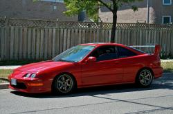 HONDA INTEGRA red