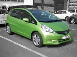 HONDA JAZZ green